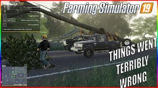 OUTLAWS TREE REMOVAL - THIS WAS A TERRIBLE IDEA - MIDWEST HORIZON EP 7 - FS19 RP