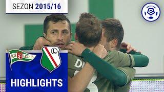 Lechia Gdańsk - Legia Warszawa 1:3 [skrót] sezon 2015/16 kolejka 14