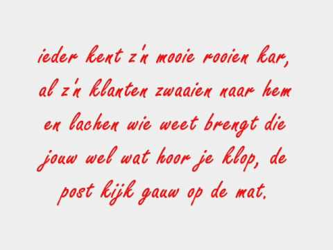 Pieter Post + lyrics