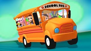 ruedas en el bus | canciones de niños | The Wheels On The Bus | Luke and Lily Español | Canciones