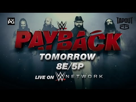Watch WWE Payback 2016 tomorrow, live on WWE Network