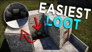 BAITING PLAYERS into an INSTANT DEATH SCAM SHOP! - Rust Trap Base