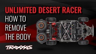 How to Remove the Body | Unlimited Desert Racer