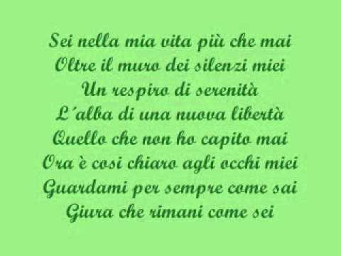 Amare Veramente. Laura Pausini con testo