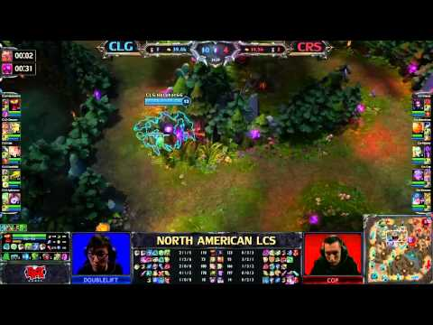 CLG vs CRS - LCS 2013 NA Spring W7D1 (English)