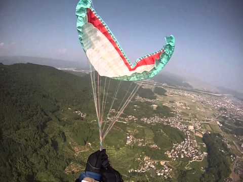 out of control Reserve parachute Toss Twist of Lines SAT fullstall japan 2013 9 13