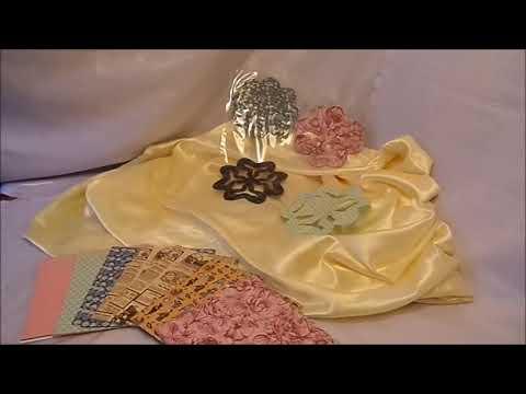 DIY: WAND TATTOOS , Papier Ornamente-Blüten basteln ,-NEUER LOOK HOME Deko