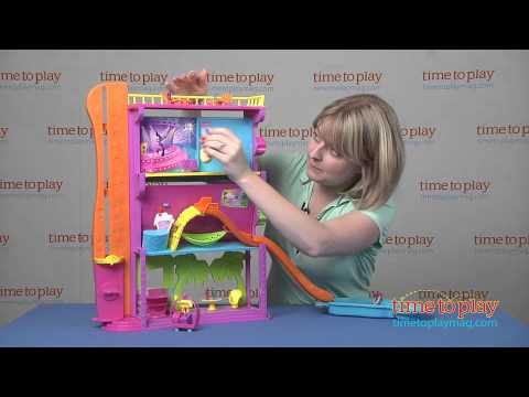 Polly Pocket Spin N Surprise Hotel from Mattel