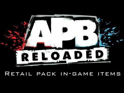 APB: Reloaded Retail Pack in-game items