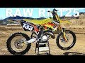 Project RM125 2 Stroke RAW Motocross Action Magazine mp3