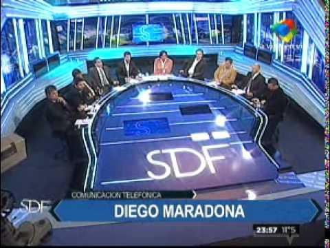 Maradona vs. El Chino Tapia. El show del fútbol