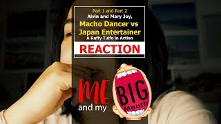 Alvin and Mary Joy, Macho Dancer vs Japan Entertainer | Raffy Tulfo in Action | REACTION