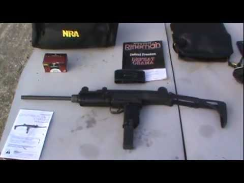 Century International Arms Centurion UC-9 9MM Uzi Style Carbine doing head shots