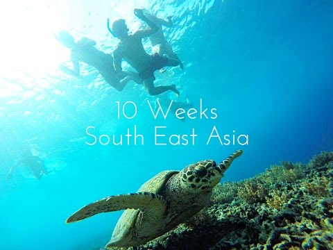 Backpacking South East Asia | 10 Weeks | GoPro Hero 4 | Epic Trip!!!