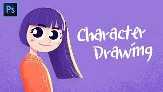 Character Drawing with Photoshop  // JohnKOBA