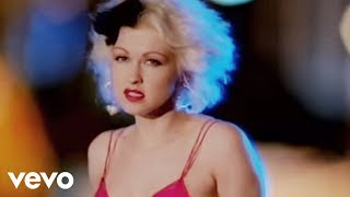 Клип Cyndi Lauper - I Drove All Night
