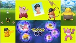 Pokemon Go 130 : Chasse fructueuse des Pikachu shiny ? Soporifik shiny en masse ?