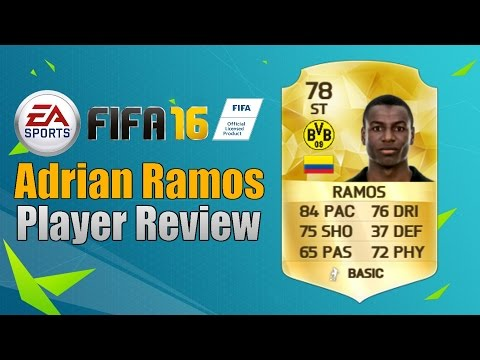 Fifa 16 - Adrian Ramos (78) Player Review + In Game Stats