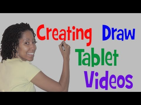 How to Make Chalkboard / Drawing Videos for Teaching and Illustrating