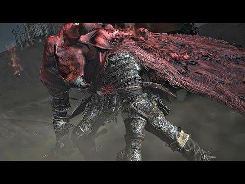 Dark Souls 3 Ringed City: Slave Knight Gael Boss Fight [4K 60FPS]
