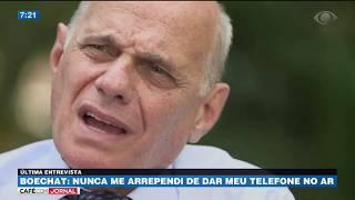 Boechat: Veruska me convenceu a ir trabalhar no rádio
