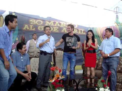 WILLIAM LEVY EN CIUDAD CARDEL DENTRO DEL CARNAVAL CARDEL 2011