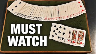 The BEST Card Trick Ever is VISUALLY IMPOSSIBLE!