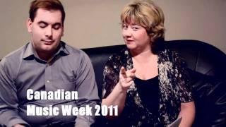 Canadian Music Week 2011 - Linda Randall - The Idea Girl - Ryan Swayze