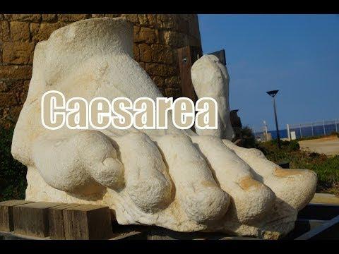 Visiting Caesarea, Israel ( קֵיסָרְיָה; - قيسارية ; Kaysaria; Καισάρεια Kayseri ) w/ Abraham Tours