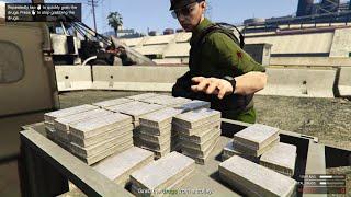 GTA 5 Online - Phi vụ đi cướp hàng trắng | ND Gaming