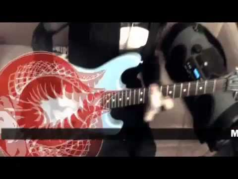 ninja girl shreds - Guitar Cobra plays George Lynch