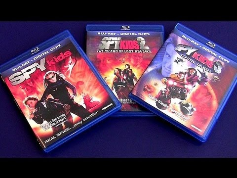 SPY KIDS Blu-ray unboxing review Game Over blu ray @ walmart $10