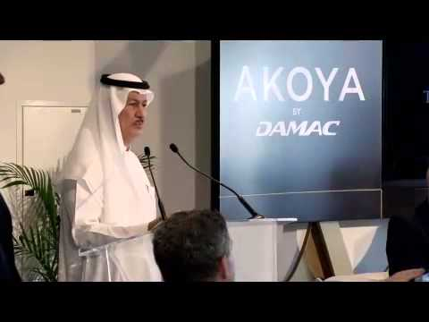 Donald Trump visiting Dubai at the Akoya by Damac Media Launch