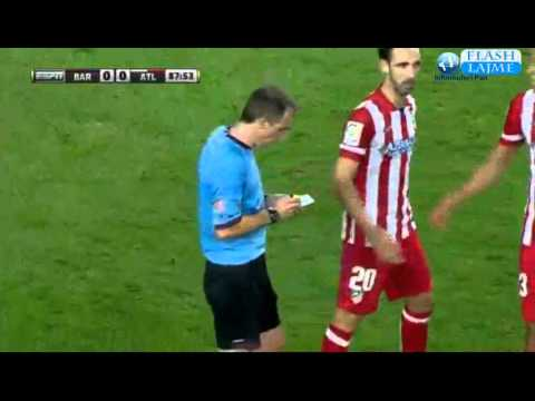 Lionel Messi MISS PENALTY KICK (Barcelona vs Atletico Madrid 0-0) Super Cup Final