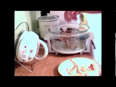 Habitat 1400w Halogen oven cooker unboxing and first cook review