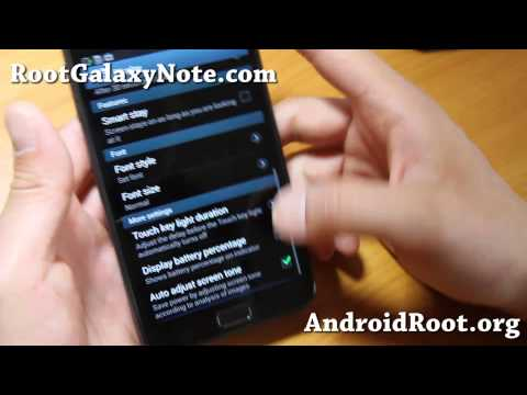 Samsung Official Android 4.1.2 ROM + Root for Galaxy Note GT-N7000!