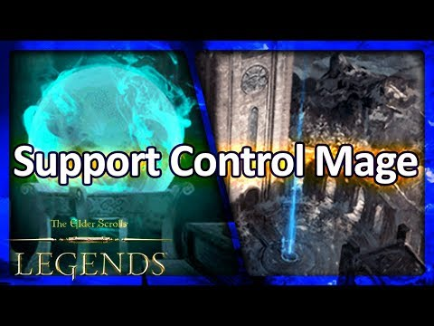 (TES: Legends) Support Control Mage Laddering vs. Token Decks