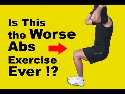 Is Hanging Leg Raises the Worse Abs Exercise ever?