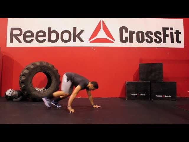 "Reebok CrossFit ONE Movement Demo ""Bear Crawl"""