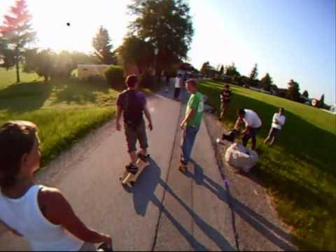 Longboard Cruising - Ischler Trasse, Salzburg