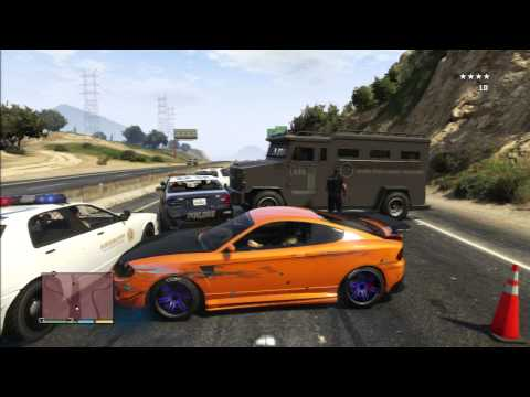 Gta 5 Like Fast And Furious Police Scene video