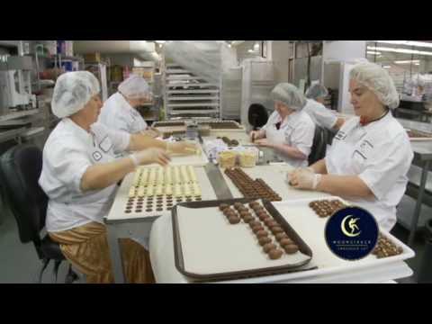 Moonstruck Chocolate Factory Tour - YouTube
