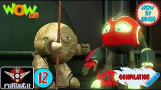 RollBots | Action compilation | #12 | Animation for kids