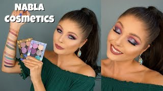 Nabla Cosmetics Eyeshadows Swatches + Demo!