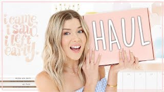 STATIONARY & LIFESTYLE HAUL ♡ my *aesthetic af* subscription box | Meghan Rienks