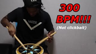 (1.67 MB) 300 BPM Single Stroke Roll & Paradiddle Mp3