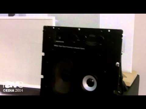 CEDIA 2014: Meridian Details DSP300 In-Wall/In-Ceiling Loudspeaker System