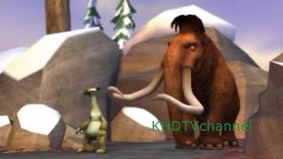 Ice Age 3 Dawn of the Dinosaurs Walkthrough part 2 - Baby Proofing and The Pursuit