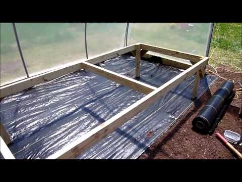 Backyard Hydroponic Greenhouse