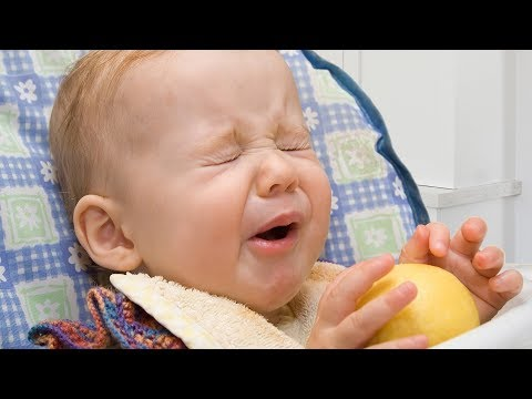 Babies Eating Lemons for the First Time Compilation 2015